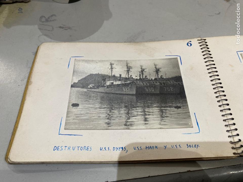 Militaria: Álbum de espionaje 29 fotografías militares originales naves. Buques . Submarinos 2 guerra mundial - Foto 9 - 242443565