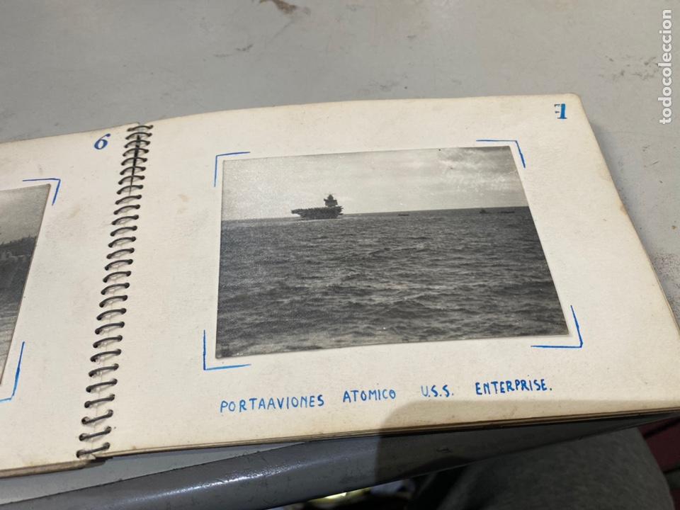 Militaria: Álbum de espionaje 29 fotografías militares originales naves. Buques . Submarinos 2 guerra mundial - Foto 10 - 242443565