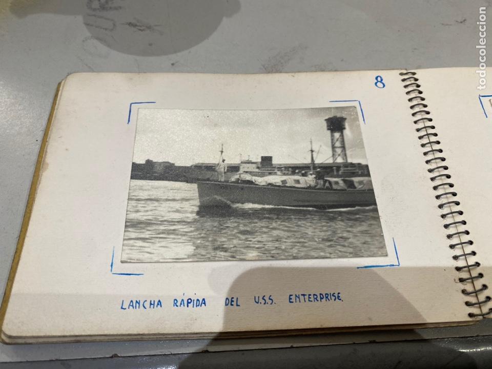 Militaria: Álbum de espionaje 29 fotografías militares originales naves. Buques . Submarinos 2 guerra mundial - Foto 11 - 242443565