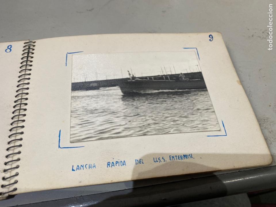 Militaria: Álbum de espionaje 29 fotografías militares originales naves. Buques . Submarinos 2 guerra mundial - Foto 12 - 242443565
