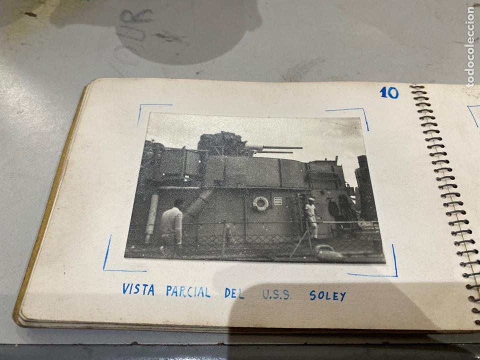 Militaria: Álbum de espionaje 29 fotografías militares originales naves. Buques . Submarinos 2 guerra mundial - Foto 13 - 242443565