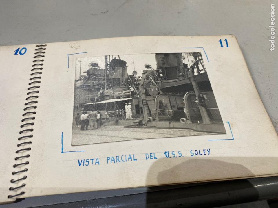 Militaria: Álbum de espionaje 29 fotografías militares originales naves. Buques . Submarinos 2 guerra mundial - Foto 14 - 242443565