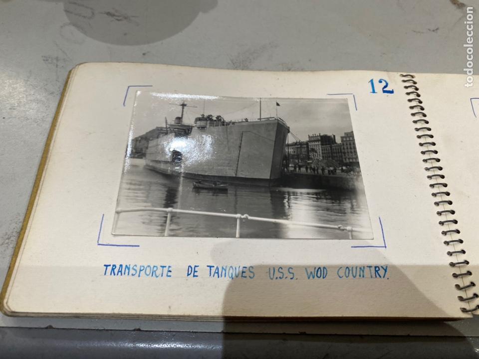 Militaria: Álbum de espionaje 29 fotografías militares originales naves. Buques . Submarinos 2 guerra mundial - Foto 15 - 242443565