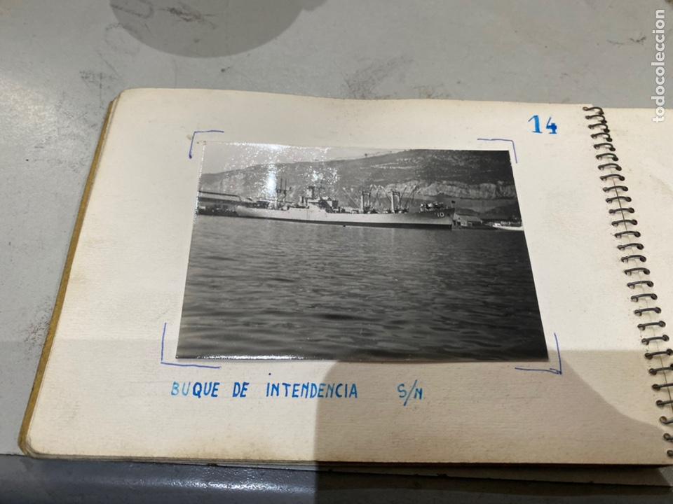 Militaria: Álbum de espionaje 29 fotografías militares originales naves. Buques . Submarinos 2 guerra mundial - Foto 17 - 242443565