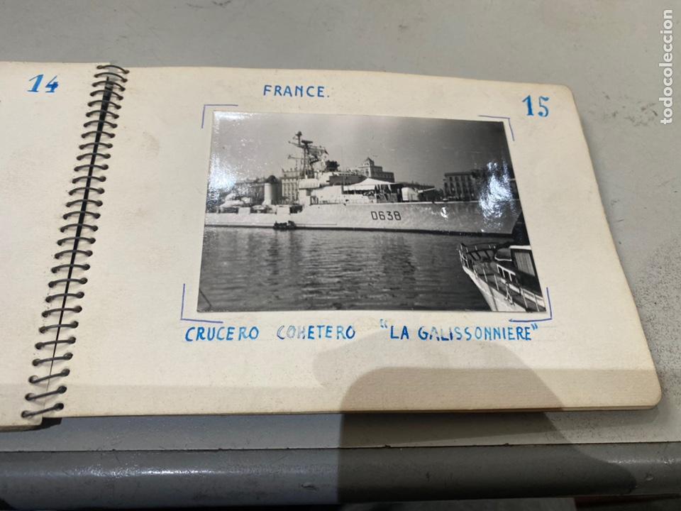 Militaria: Álbum de espionaje 29 fotografías militares originales naves. Buques . Submarinos 2 guerra mundial - Foto 18 - 242443565