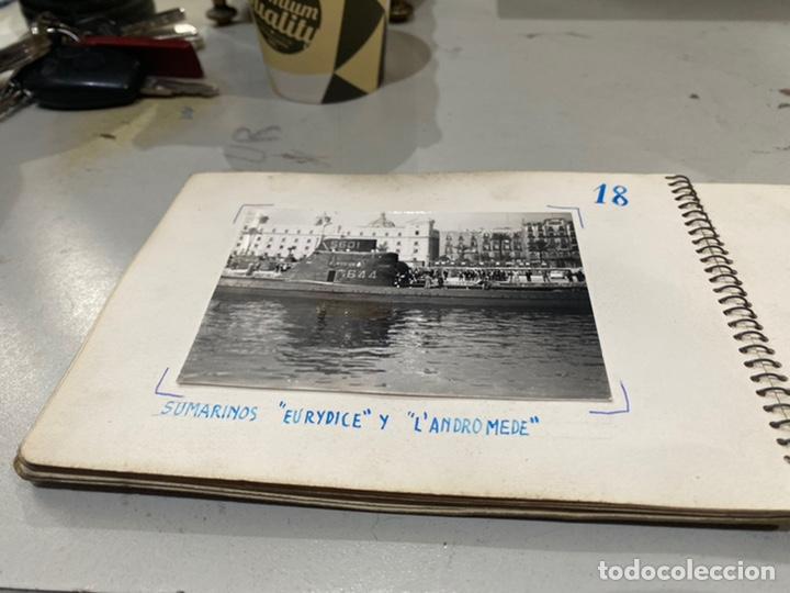 Militaria: Álbum de espionaje 29 fotografías militares originales naves. Buques . Submarinos 2 guerra mundial - Foto 20 - 242443565