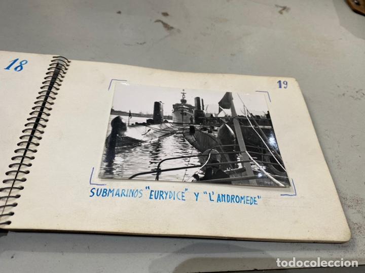 Militaria: Álbum de espionaje 29 fotografías militares originales naves. Buques . Submarinos 2 guerra mundial - Foto 21 - 242443565