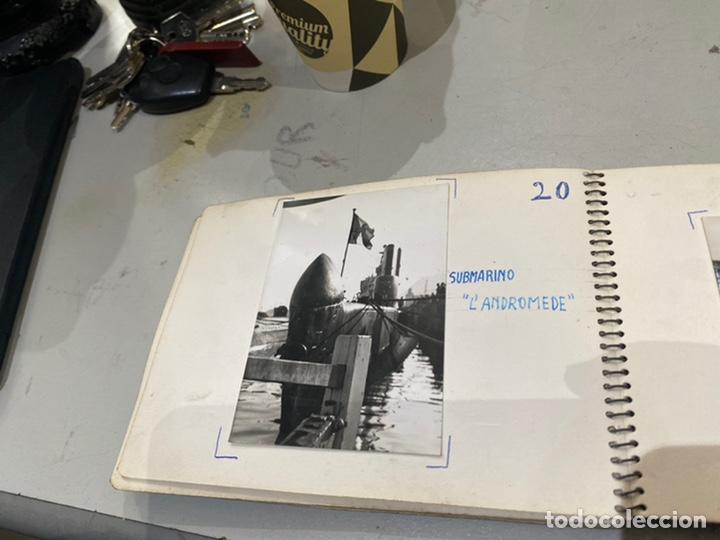 Militaria: Álbum de espionaje 29 fotografías militares originales naves. Buques . Submarinos 2 guerra mundial - Foto 22 - 242443565