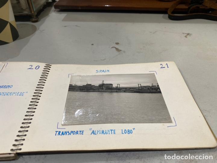 Militaria: Álbum de espionaje 29 fotografías militares originales naves. Buques . Submarinos 2 guerra mundial - Foto 23 - 242443565