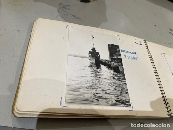 Militaria: Álbum de espionaje 29 fotografías militares originales naves. Buques . Submarinos 2 guerra mundial - Foto 24 - 242443565