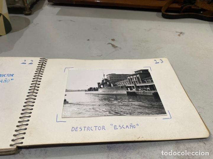Militaria: Álbum de espionaje 29 fotografías militares originales naves. Buques . Submarinos 2 guerra mundial - Foto 25 - 242443565