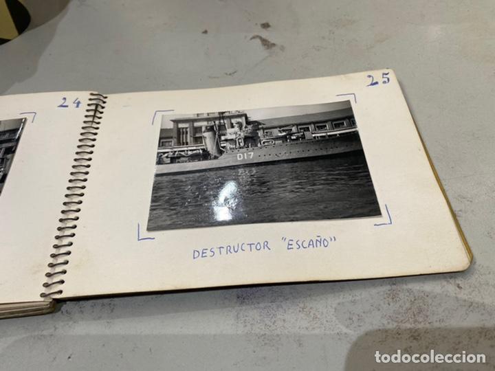 Militaria: Álbum de espionaje 29 fotografías militares originales naves. Buques . Submarinos 2 guerra mundial - Foto 27 - 242443565