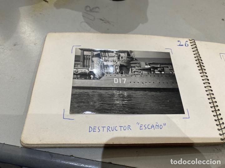 Militaria: Álbum de espionaje 29 fotografías militares originales naves. Buques . Submarinos 2 guerra mundial - Foto 29 - 242443565