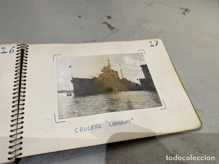 Militaria: Álbum de espionaje 29 fotografías militares originales naves. Buques . Submarinos 2 guerra mundial - Foto 30 - 242443565