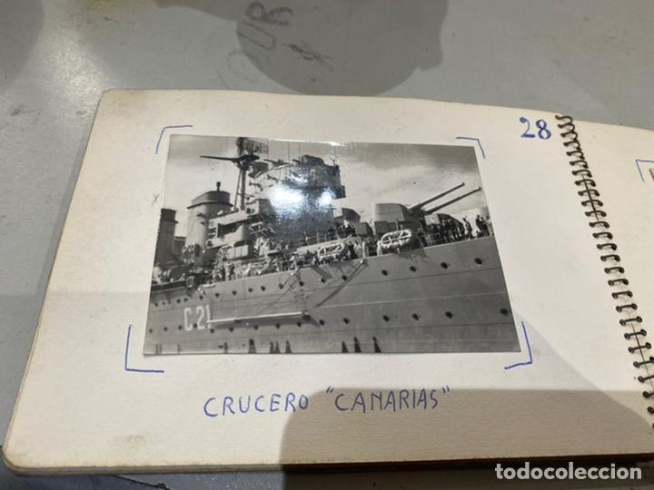 Militaria: Álbum de espionaje 29 fotografías militares originales naves. Buques . Submarinos 2 guerra mundial - Foto 31 - 242443565