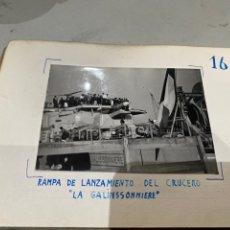 Militaria: ÁLBUM DE ESPIONAJE 29 FOTOGRAFÍAS MILITARES ORIGINALES NAVES. BUQUES . SUBMARINOS 2 GUERRA MUNDIAL. Lote 242443565