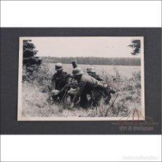 Militaria: ÁLBUM CON 84 FOTOS. 3ª BATERÍA DE ARTILLERÍA DE BREMEN. ALEMANIA, 2ªGM. Lote 243616155