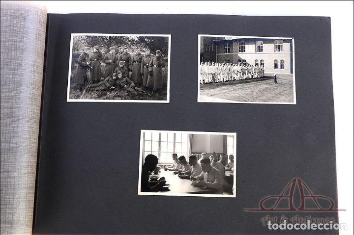 Militaria: Álbum con 84 Fotos. 3ª Batería de Artillería de Bremen. Alemania, 2ªGM - Foto 3 - 243616155