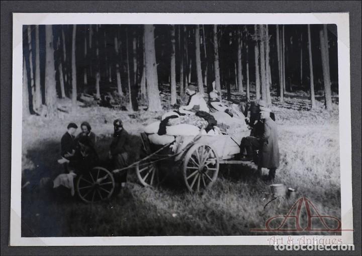 Militaria: Álbum con 84 Fotos. 3ª Batería de Artillería de Bremen. Alemania, 2ªGM - Foto 5 - 243616155