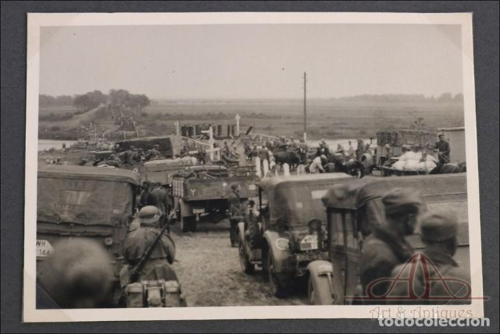 Militaria: Álbum con 84 Fotos. 3ª Batería de Artillería de Bremen. Alemania, 2ªGM - Foto 6 - 243616155