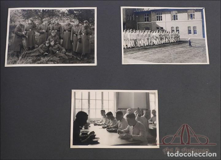 Militaria: Álbum con 84 Fotos. 3ª Batería de Artillería de Bremen. Alemania, 2ªGM - Foto 14 - 243616155