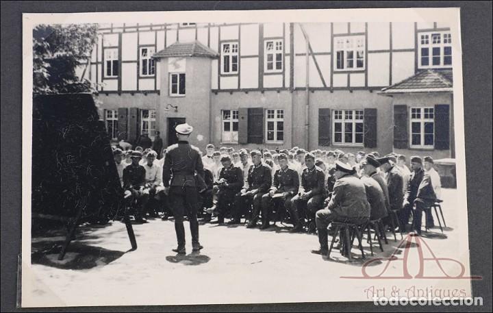 Militaria: Álbum con 84 Fotos. 3ª Batería de Artillería de Bremen. Alemania, 2ªGM - Foto 15 - 243616155