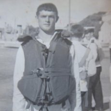 Militaria: FOTOGRAFÍA MARINERO ARMADA ESPAÑOLA. MAHÓN 1969. Lote 243859310