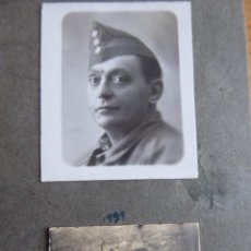 Militaria: FOTOGRAFÍA CAPITÁN HABILITADO INFANTERÍA DEL EJÉRCITO NACIONAL. 1939. Lote 243861405