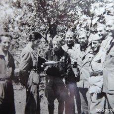 Militaria: FOTOGRAFÍA OFICIALES DEL EJÉRCITO NACIONAL.. Lote 243863510