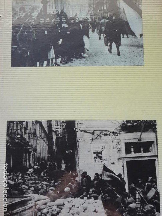 2 RECORTES POLÍTICO MILITARES. GUERRA CIVIL FRANQUISMO REPÚBLICA. BATALLA EN TERUEL. 26 (Militar - Fotografía Militar - Guerra Civil Española)