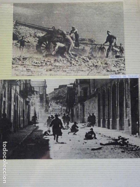 2 RECORTES POLÍTICO MILITARES. GUERRA CIVIL FRANQUISMO REPÚBLICA. BATALLA EN TERUEL. 27 (Militar - Fotografía Militar - Guerra Civil Española)