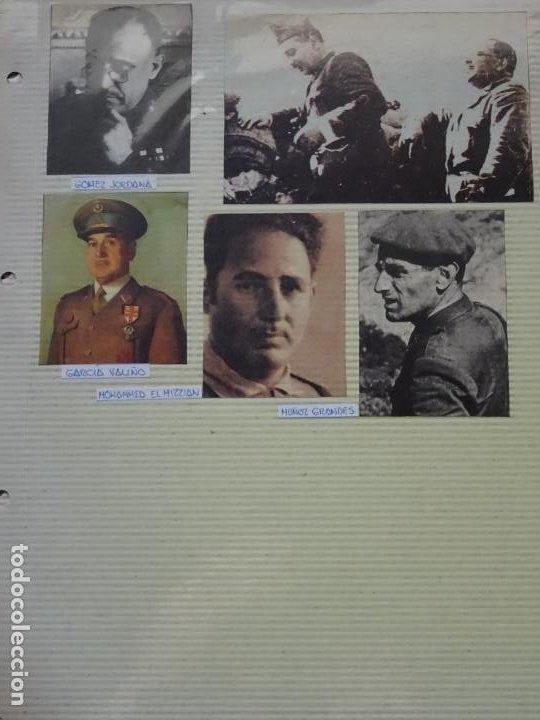 5 RECORTES POLÍTICO MILITARES. GUERRA CIVIL FRANQUISMO REPÚBLICA. JORDANA VALIÑO HIZZIAN 34 (Militar - Fotografía Militar - Guerra Civil Española)