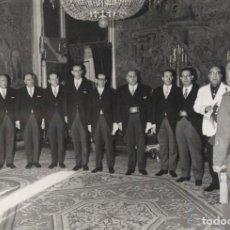 Militaria: AUDIENCIA DEL CAUDILLO (11/01/1968). DIPUTACION FORAL DE ALAVA PRESIDIDA POR EL GOBERNADOR. Lote 244481445