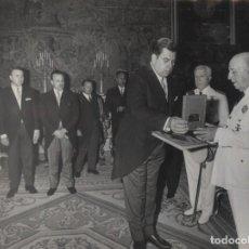 Militaria: AUDIENCIA DEL CAUDILLO (07/04/1967). DIPUTACION PROVINCIAL DE TARRAGONA.. Lote 244486610