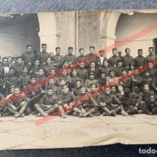 Militaria: FOTOGRAFÍA COMPAÑÍA 33 REGIMIENTO CARTAGENA. Lote 244531625