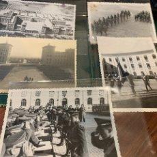 Militaria: FOTOGRAFÍAS LOTE (5) ACADEMIA GENERAL MILITAR 48 Y 53. Lote 244656705