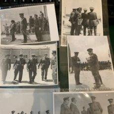 Militaria: FOTOGRAFÍAS LOTE (32) FOTOS DEL EJÉRCITO ESPAÑOL ALA 48 / 50. Lote 244662850