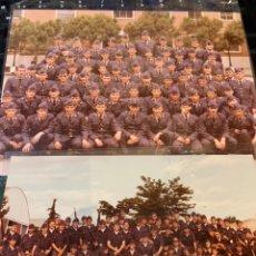 Militaria: FOTOGRAFÍAS (2) EJÉRCITO DEL AIRE - 2 REEMPLAZÓ AÑO 80. Lote 244666730