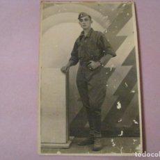 Militaria: FOTO DE UN MILITAR. FOTO ALMARAZ, SALAMANCA.. Lote 244766130