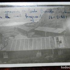 Militaria: FOTOGRAFIA DE EL HOSPITAL DE CALA BONITA, MARRUECOS, GUERRA DEL RIF, CRUZ ROJA EN MARRUECOS, AÑO 192. Lote 244786960