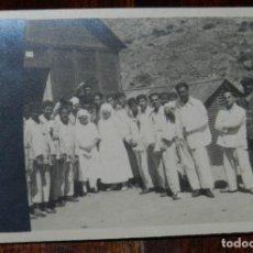 Militaria: FOTOGRAFIA DE EL HOSPITAL DE CALA BONITA, MARRUECOS, GUERRA DEL RIF, CRUZ ROJA EN MARRUECOS, AÑO 192. Lote 244787000