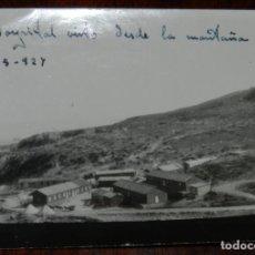Militaria: FOTOGRAFIA DE EL HOSPITAL DE CALA BONITA, MARRUECOS, GUERRA DEL RIF, CRUZ ROJA EN MARRUECOS, AÑO 192. Lote 244787060