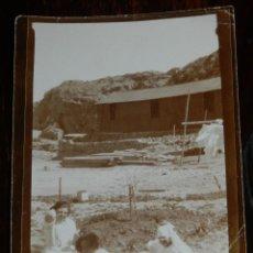 Militaria: FOTOGRAFIA DE GRUPO DE ENFERMERAS DE LA CRUZ ROJA DEL HOSPITAL DE CALA BONITA, MARRUECOS, GUERRA DEL. Lote 244787285