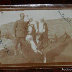 Militaria: FOTOGRAFIA DE GRUPO DE ENFERMERAS DE LA CRUZ ROJA DEL HOSPITAL DE CALA BONITA, MARRUECOS, GUERRA DEL. Lote 244788040