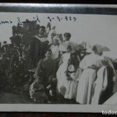 Militaria: FOTOGRAFIA DE GRUPO DE ENFERMERAS DE LA CRUZ ROJA EN MARRUECOS, GUERRA DEL RIF, 1927, MIDE 9 X 6,5 C. Lote 244788825