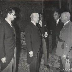 Militaria: AUDIENCIA FRANCO (22(04/1971). COMPAÑIA CANARIENSE MARROQUI DEL TABACO S.A.PRESIDE DON JOSE JORRO. Lote 244796510