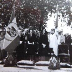Militaria: FOTOGRAFÍA JURA DE BANDERA DEL EJÉRCITO ESPAÑOL. VILLAR FOTO ORENSE. Lote 244931605