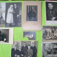 Militaria: 9 FOTOGRAFÍAS FAMILIA ALEMANA 2 GM. Lote 244949610