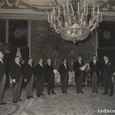 Militaria: AUDIENCIA FRANCO (13/03/1970). COMISION DEL CLUB DE ASEGURADORES INTERNACIONALES.PRESIDE SR PORRAS. Lote 244981820
