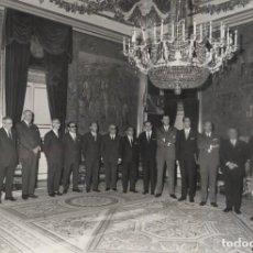 Militaria: AUDIENCIA FRANCO (11/01/1961) CONSEJO ECONOMICO SINDICAL DE LEON, PRESIDIDA POR EL GOBERNADOR CIVIL.. Lote 244982590